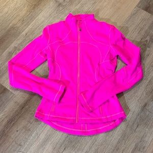 Hot pink Lululemon fitted jacket